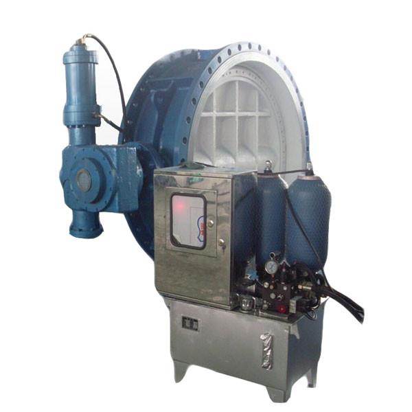 Renewable Design for Foot Valve - Accumulator type hydraulic control butterfly valve – Jinbin Valve