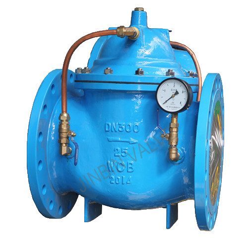 Special Design for 6 Inch Strainer - 300X Hydraulic slowly closed Check Valve – Jinbin Valve