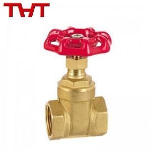 screw ended brass globe valve