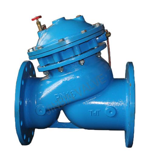 Manufacturing Companies for Ansi Chain Wheel Gate Valve - Multi-function water pump control valve – Jinbin Valve