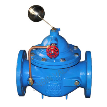 Factory supplied Electric Actuated Gate Valve - 100X Hydraulic float control valve for water level – Jinbin Valve