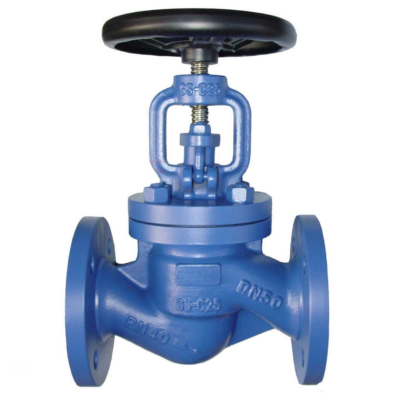 High Quality Dn400 Butterfly Valve - Cast iron flange globe valve – Jinbin Valve