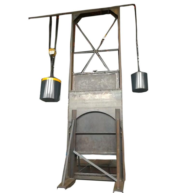 High Performance10 Inch Gate Valve - Heavy Hammer Plug-in Valve sluice damper – Jinbin Valve