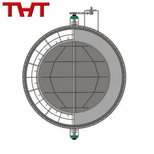 Round Refractory Lined Damper Valve