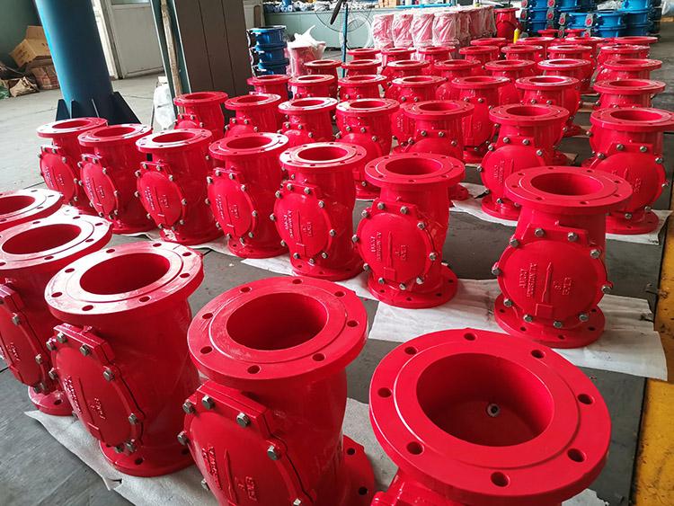 rubber check valve
