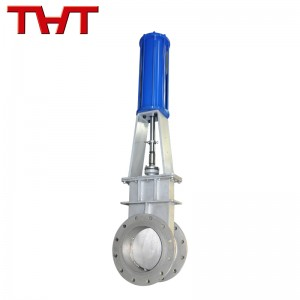stainless steel pneumatic slide gate valve
