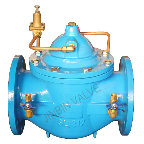 Cheapest Factory Duo Check Valve - 200X cast iron Pressure reducing valve – Jinbin Valve