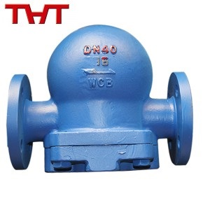 Carbon steel flang ends steam trap