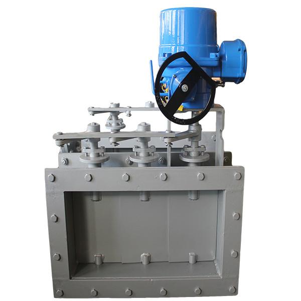 Fast delivery Carbon Steel Check Valve - Electric square louver valve – Jinbin Valve