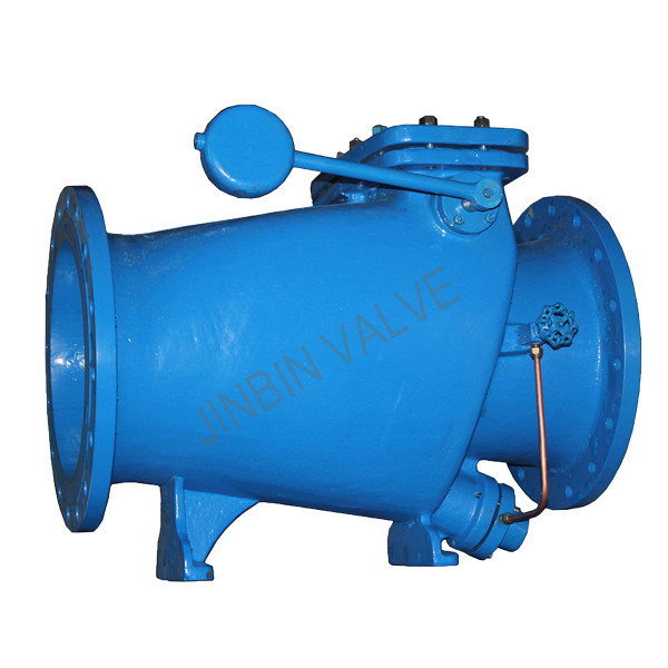 Factory Price For Industrial Butterfly Valves - microresistance slow closing flange check Valve with counterweight – Jinbin Valve